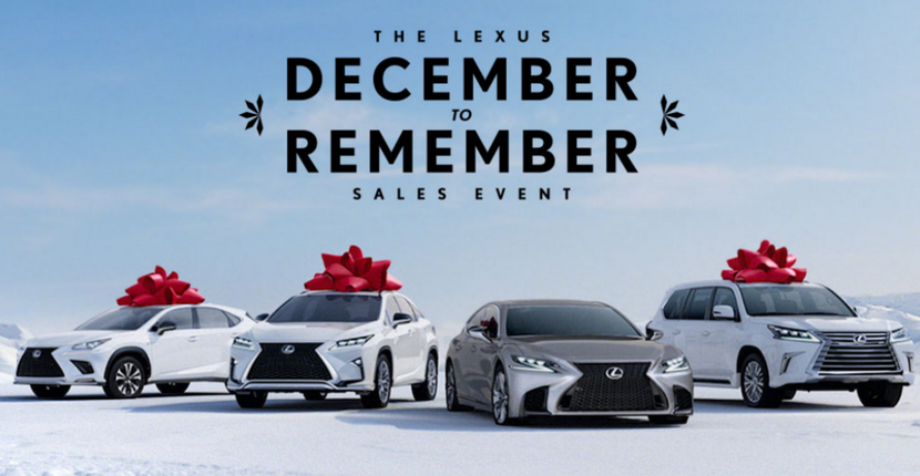 December to Remember Lexus Deals