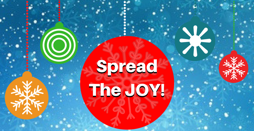 Spread the Joy this Holiday