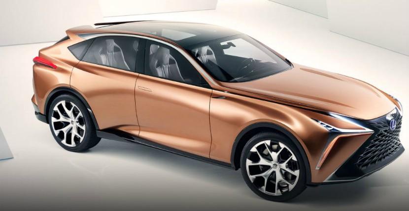 A Rose Gold Lexus